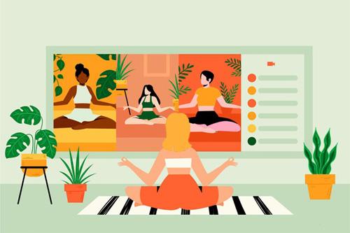 Yoga en ligne - Méditation