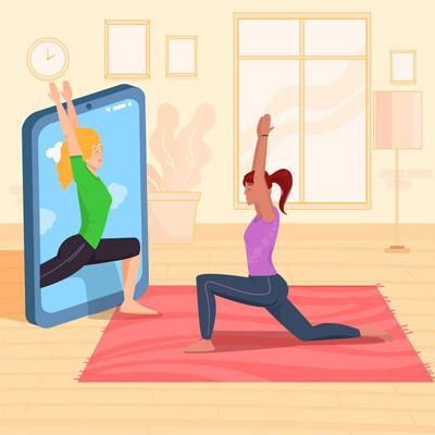 Yoga en ligne - Posture